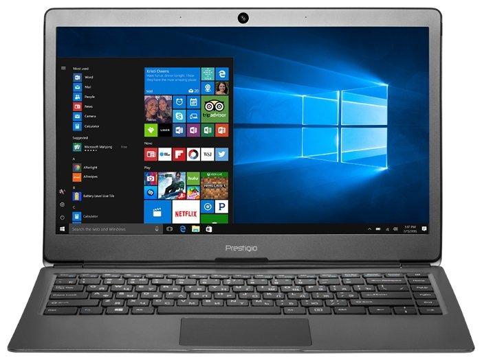 "Prestigio Ноутбук Prestigio SmartBook 133S (Intel Celeron N3350 1100 MHz/13.3""/1920x1080/3Gb/32Gb eMMC/DVD нет/Intel HD Graphics 500/Wi-Fi/Bluetooth/Windows 10 Pro)"