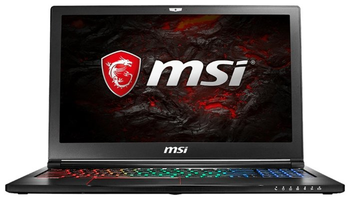 "MSI Ноутбук MSI GS63 7RD Stealth (Intel Core i7 7700HQ 2800 MHz/15.6""/1920x1080/16Gb/256Gb SSD/DVD нет/NVIDIA GeForce GTX 1050/Wi-Fi/Bluetooth/DOS)"