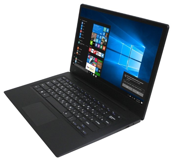"KREZ Ноутбук KREZ N1402P (Intel Atom x5 Z8350 1440 MHz/14""/1366x768/2Gb/32Gb eMMC/DVD нет/Intel HD Graphics 400/Wi-Fi/Bluetooth/Win 10 Pro)"