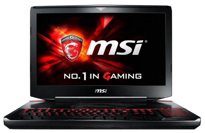 """MSI Ноутбук MSI GT80S 6QE Titan SLI (Core i7 6920HQ 2900 MHz/18.4""""/1920x1080/32.0Gb/1256Gb HDD+SSD/DVD-RW/NVIDIA GeForce GTX 980M/Wi-Fi/Bluetooth/Win 10 Home)"""