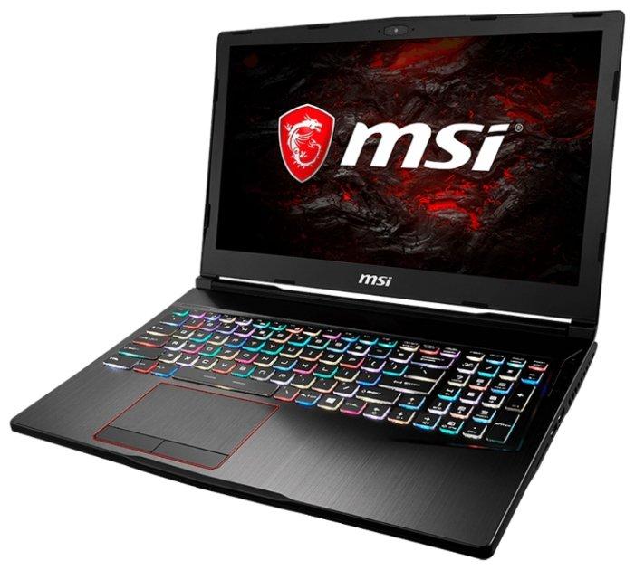 "MSI Ноутбук MSI GE63VR 7RF Raider (Intel Core i7 7700HQ 2800 MHz/15.6""/1920x1080/16Gb/1256Gb HDD+SSD/DVD нет/NVIDIA GeForce GTX 1070/Wi-Fi/Bluetooth/Windows 10 Home)"