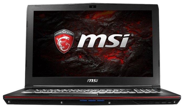 """MSI Ноутбук MSI GP62 7RE Leopard Pro (Intel Core i7 7700HQ 2800 MHz/15.6""""/1920x1080/16Gb/1000Gb HDD/DVD-RW/NVIDIA GeForce GTX 1050 Ti/Wi-Fi/Bluetooth/Win 10 Home)"""
