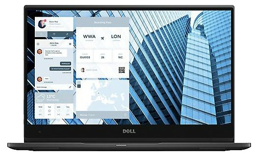"""DELL Ноутбук DELL LATITUDE 7370 (Intel Core m5 6Y54 1100 MHz/13.3""""/1920x1080/8Gb/256Gb SSD/DVD нет/Intel GMA HD/Wi-Fi/Bluetooth/Windows 10 Pro)"""
