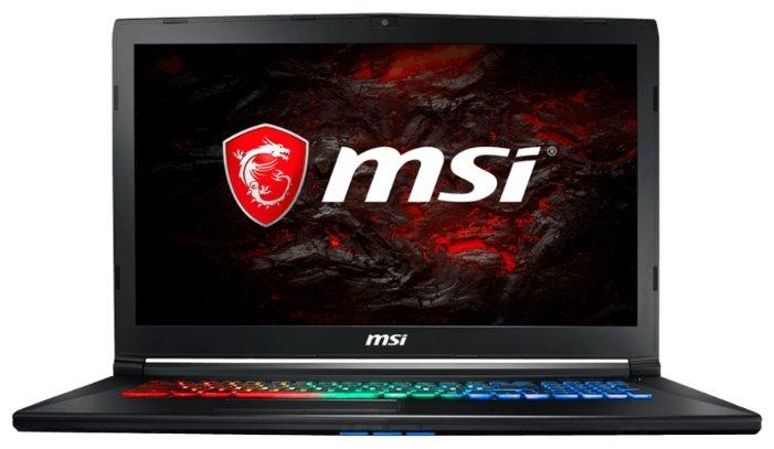 "MSI Ноутбук MSI GP72M 7RDX Leopard (Intel Core i7 7700HQ 2800 MHz/17.3""/1920x1080/8Gb/1128Gb HDD+SSD/DVD нет/NVIDIA GeForce GTX 1050/Wi-Fi/Bluetooth/Windows 10 Home)"