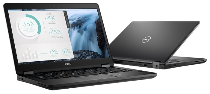 "DELL Ноутбук DELL LATITUDE 5480 (Intel Core i5 6440HQ 2600 MHz/14""/1920x1080/8Gb/512Gb SSD/DVD нет/Intel GMA HD/Wi-Fi/Bluetooth/Windows 7 Professional)"