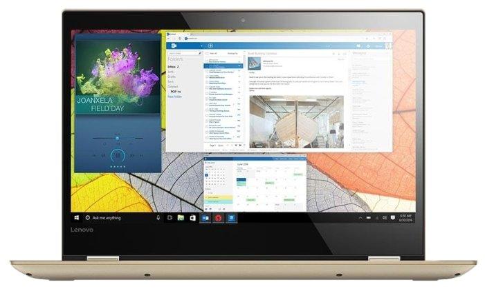 "Lenovo Ноутбук Lenovo Yoga 520 14 (Intel Core i5 7200U 2500 MHz/14""/1920x1080/8Gb/1128Gb HDD+SSD/DVD нет/NVIDIA GeForce 940MX/Wi-Fi/Bluetooth/Windows 10 Home)"