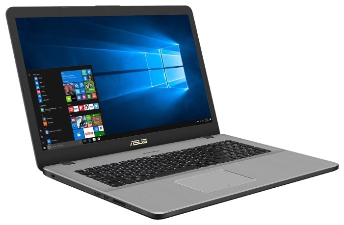 "ASUS Ноутбук ASUS VivoBook Pro 17 N705UD (Intel Core i5 7200U 2500 MHz/17.3""/1920x1080/8Gb/1000Gb HDD/DVD нет/NVIDIA GeForce GTX 1050/Wi-Fi/Bluetooth/Windows 10 Home)"