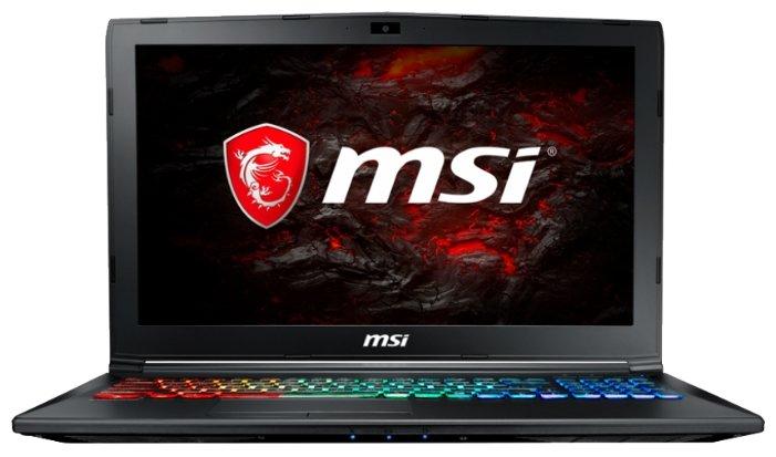 """MSI Ноутбук MSI GP62M 7REX Leopard Pro (Intel Core i7 7700HQ 2800 MHz/15.6""""/1920x1080/16Gb/1000Gb HDD/DVD нет/NVIDIA GeForce GTX 1050 Ti/Wi-Fi/Bluetooth/Win 10 Home)"""