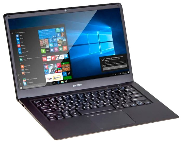"Digma Ноутбук Digma CITI E400 (Intel Atom x5 Z8350 1440 MHz/14.1""/1920x1080/4GB/32GB SSD/DVD нет/Intel HD Graphics 400/Wi-Fi/Bluetooth/Windows 10 Home)"