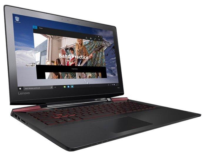 "Lenovo Ноутбук Lenovo IdeaPad Y700 15 (Intel Core i5 6300HQ 2300 MHz/15.6""/1920x1080/8.0Gb/1128Gb HDD+SSD/DVD нет/NVIDIA GeForce GTX 960M/Wi-Fi/Bluetooth/Win 10 Home)"