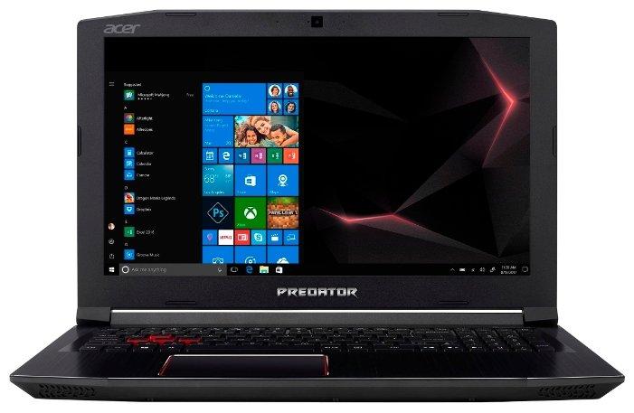 "Acer Ноутбук Acer Predator Helios 300 (PH315-51-75XU) (Intel Core i7 8750H 2200 MHz/15.6""/1920x1080/16GB/1128GB HDD+SSD/DVD нет/NVIDIA GeForce GTX 1050 Ti/Wi-Fi/Bluetooth/Linux)"