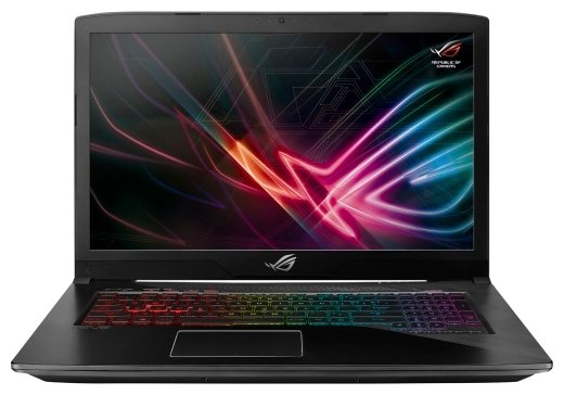 "ASUS Ноутбук ASUS ROG Strix GL703GE (Intel Core i7 8750H 2200 MHz/17.3""/1920x1080/8GB/1128GB HDD+SSD/DVD нет/NVIDIA GeForce GTX 1050 Ti/Wi-Fi/Bluetooth/Windows 10 Home)"