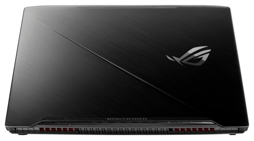 "ASUS Ноутбук ASUS ROG Strix GL703GE (Intel Core i7 8750H 2200 MHz/17.3""/1920x1080/8GB/1128GB HDD+SSD/DVD нет/NVIDIA GeForce GTX 1050 Ti/Wi-Fi/Bluetooth/Windows 10 Home)"