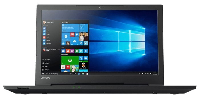 "Lenovo Ноутбук Lenovo V110 15 Intel (Intel Core i3 6100U 2300 MHz/15.6""/1366x768/4Gb/500Gb HDD/DVD-RW/Intel HD Graphics 520/Wi-Fi/Bluetooth/Win 10 Home)"
