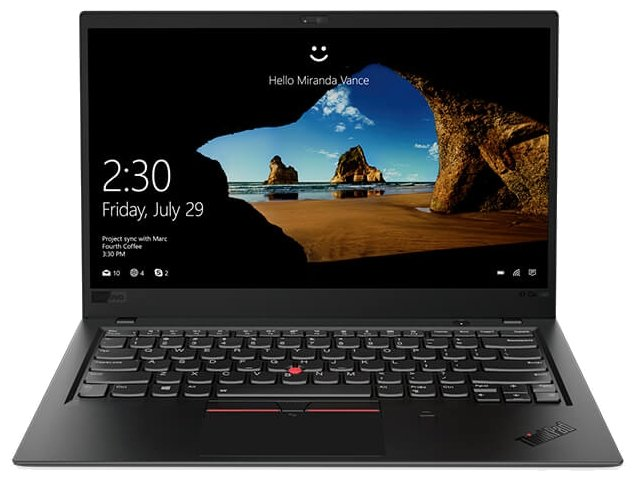 "Lenovo Ноутбук Lenovo THINKPAD X1 Carbon Ultrabook (6th Gen) (Intel Core i7 8550U 1800 MHz/14""/1920x1080/16GB/512GB SSD/DVD нет/Intel UHD Graphics 620/Wi-Fi/Bluetooth/LTE/Windows 10 Pro)"