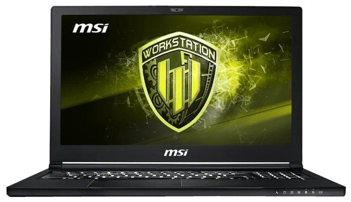 MSI Ноутбук MSI WS63 8SJ