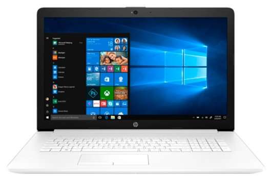 "HP Ноутбук HP 17-ca0046ur (AMD Ryzen 3 2200U 2500 MHz/17.3""/1600x900/4GB/500GB HDD/DVD-RW/AMD Radeon Vega 3/Wi-Fi/Bluetooth/Windows 10 Home)"