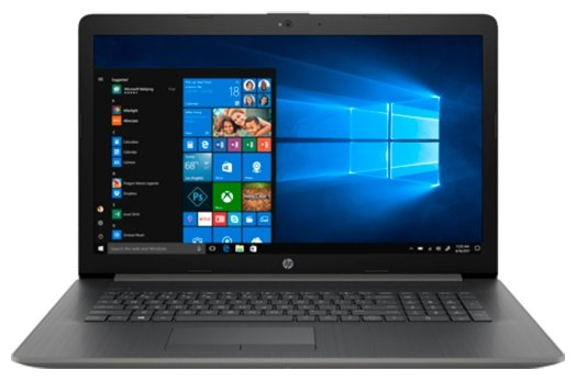 """HP Ноутбук HP 17-ca0057ur (AMD Ryzen 3 2200U 2500 MHz/17.3""""/1920x1080/4GB/500GB HDD/DVD-RW/AMD Radeon 530/Wi-Fi/Bluetooth/Windows 10 Home)"""