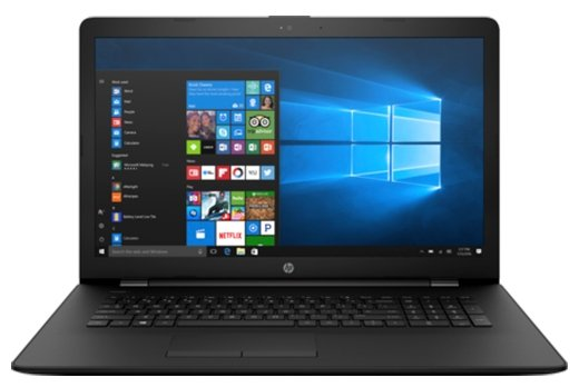 "HP Ноутбук HP 17-bs011ur (Intel Pentium N3710 1600 MHz/17.3""/1600x900/4Gb/500Gb HDD/DVD-RW/AMD Radeon 520/Wi-Fi/Bluetooth/Windows 10 Home)"