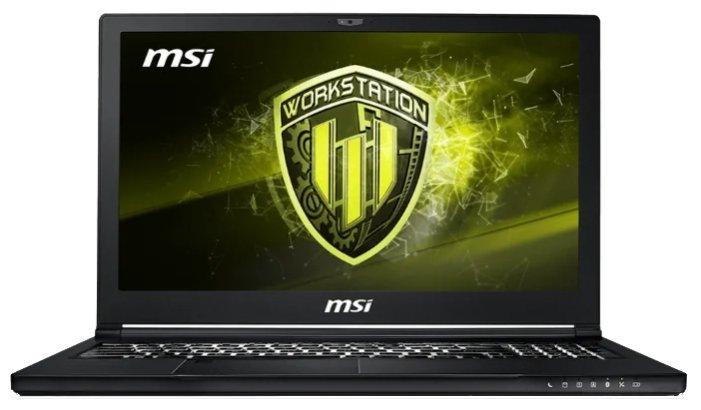 MSI Ноутбук MSI WS63 8SL