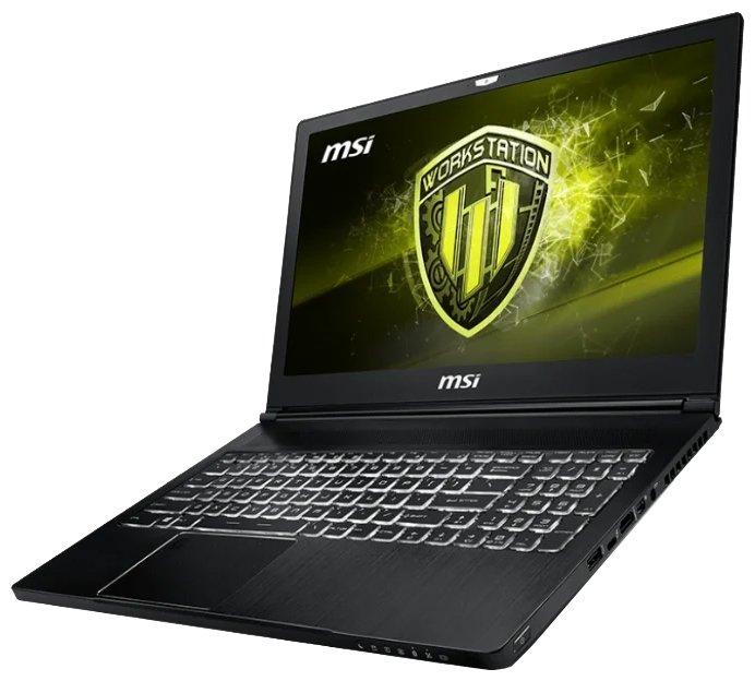 MSI Ноутбук MSI WS63 8SK
