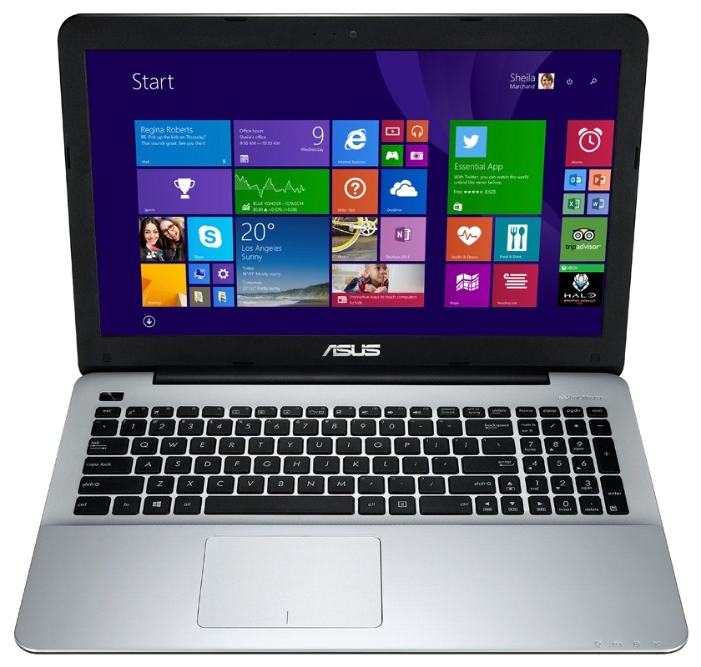 "ASUS Ноутбук ASUS X555LA (Core i3 4030U 1900 Mhz/15.6""/1366x768/4.0Gb/500Gb/DVD-RW/Intel HD Graphics 4400/Wi-Fi/Bluetooth/DOS)"