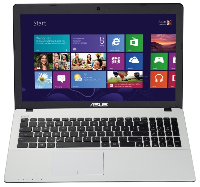 "ASUS Ноутбук ASUS X552CL (Core i3 3217U 1800 Mhz/15.6""/1366x768/4.0Gb/500Gb/DVD-RW/NVIDIA GeForce 710M/Wi-Fi/Bluetooth/DOS)"